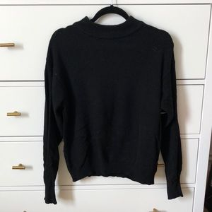 Brandy Melville Black Pullover Sweater